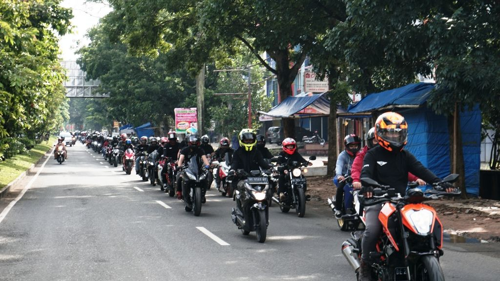 Bold Riders Lampung Gelar Sunmori Gabungan Awali Tahun 2021