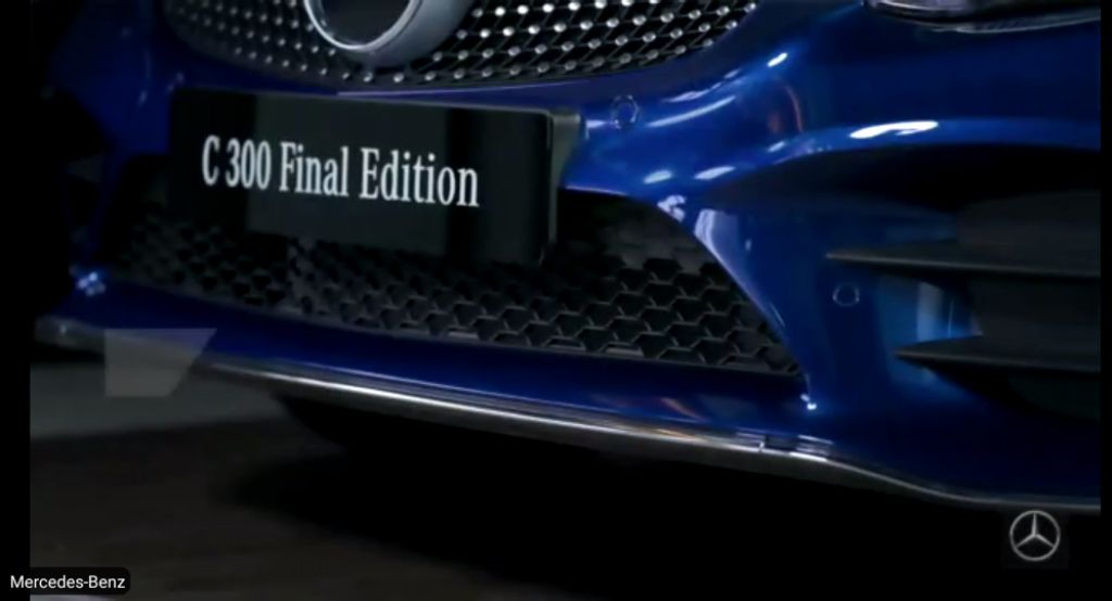 Awali Tahun 2021, Mercedes-Benz Indonesia Luncurkan Dua Varian C-Class AMG Final Edition