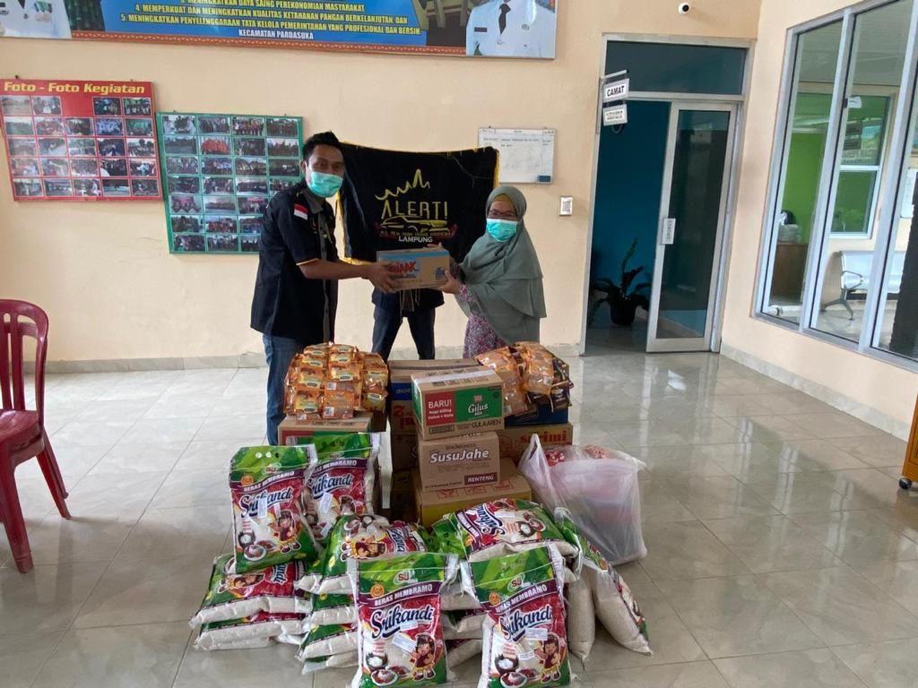 ALERT Chapter Lampung Giat Baksos Peduli Banjir