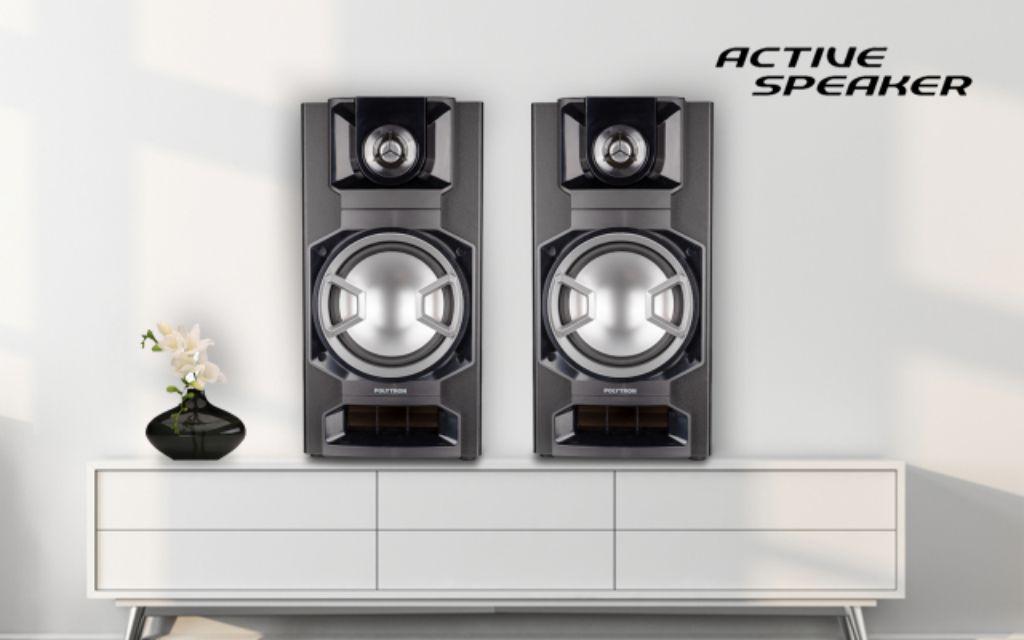 Tren Speaker Active Terbaru, Polytron Kembangkan Design yang Compact dan Serba Digital