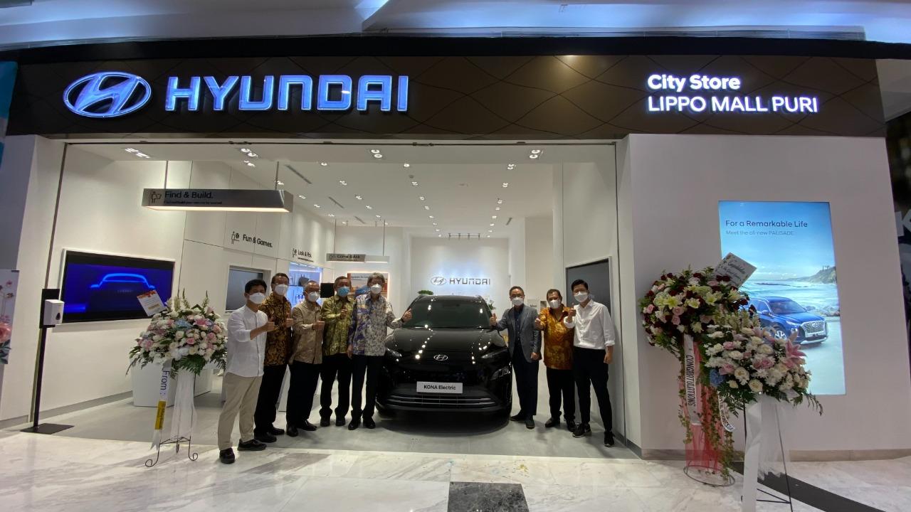 Usung Konsep Penjualan dan Layanan Door-to-Door, Hyundai City StoreKedua di Indonesia Hadir di Lippo Mall Puri