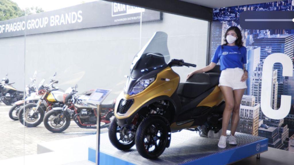 Salah satu produk Piaggio di Diler Motoplex. | jakartainsight.com