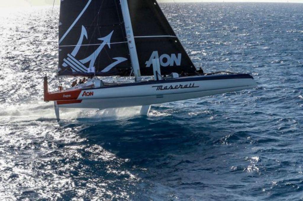 Giovanni Soldini dan Tim Maserati Multi 70 Cetak rekor multihull Monaco ke Porto Cervo