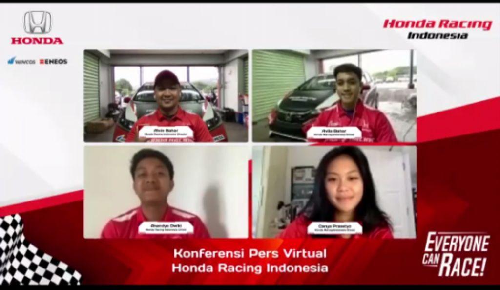 Diisi Talenta Muda Berbakat, Honda Perkenalkan Tim Balap HRI 2021
