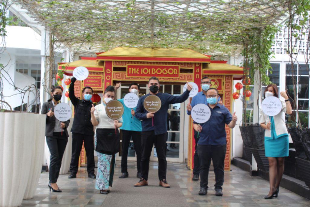 THE 1O1 Hotel Bogor Suryakancana Turut Ambil Bagian dalam Program Vaksinasi Covid-19