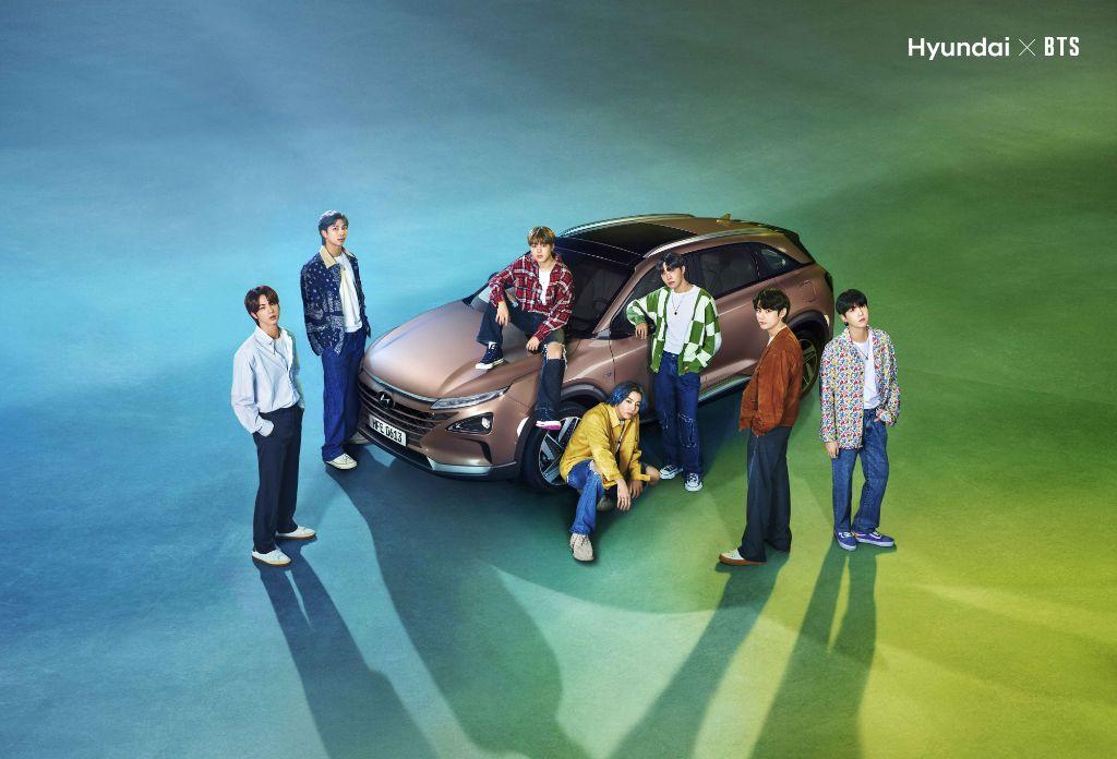 BTS bersama Hyundai Motor kampanyekan Hidrogen saat Hari Bumi 2021. | jakartainsight.com