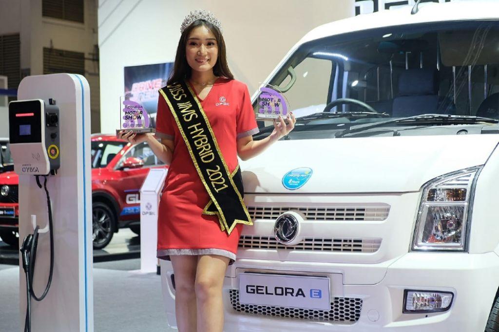 DFSK raih penghargaan untuk Gelora E dan Miss IIMS Hybrid 2021. | jakartainsight.com