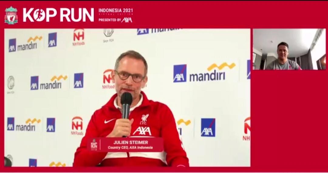 Kop Run 2021 diadakan secara virtual di Indonesia.   jakartainsight.com