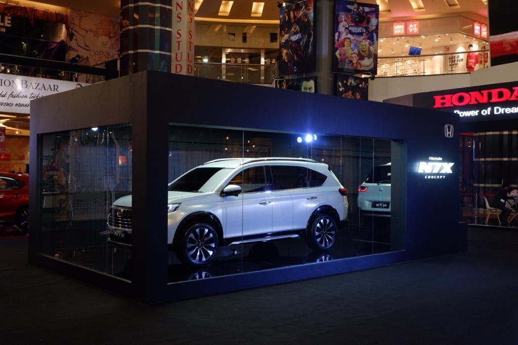 Makassar Jadi Kota Pertama Diluar Pulau Jawa yang Dikunjungi Mobil Konsep Honda N7X