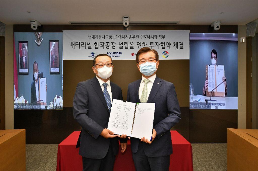 Jalin Kerjasama, Hyundai Motor Group dan LG Energy Solution Bangun Pabrik Sel Baterai Kendaraan Listrik | jakartainsight.com