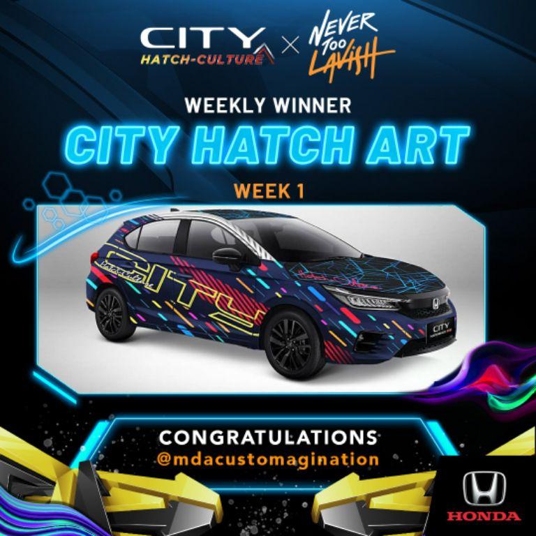 City Hatch Art Competition Berhasil Kumpulkan 400 Karya, Berikut Pemenang Mingguannya!