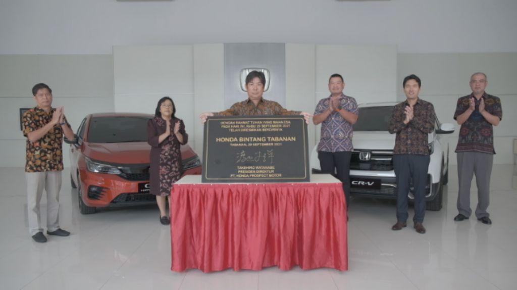 Dealer Bintang Tabanan Hadir Perkuat Jaringan Penjualan Honda di Bali