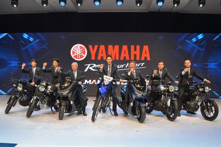 Yamaha Luncurkan XSR 155 dan WR155 Bersamaan dengan All New NMAX 155, Salut!