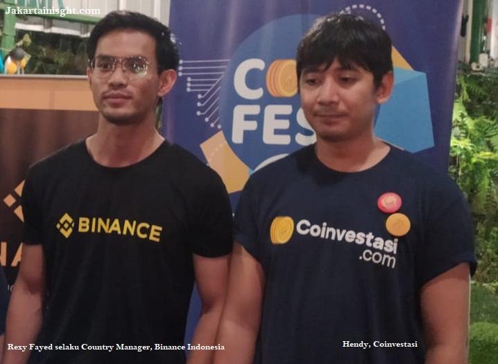 Fokus Tingkatkan Awareness Blockchain dan Kripto, BINANCE Join Roadshow Coinfest Bogor