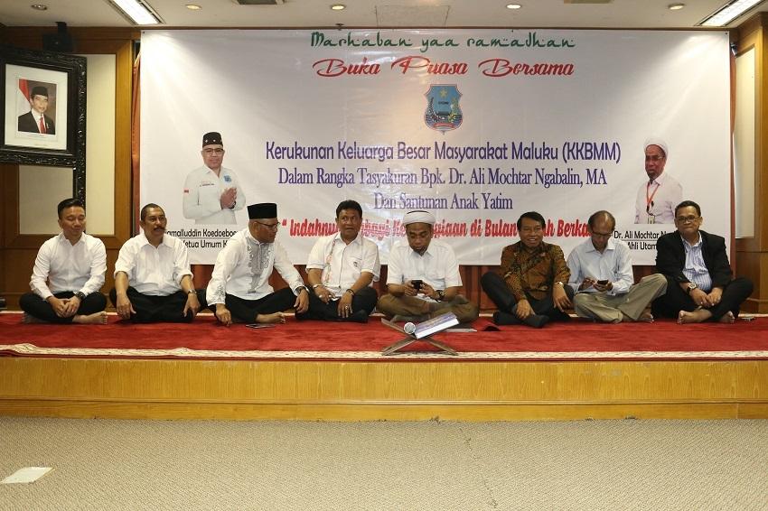 Tokoh Lintas Agama Hadiri Kegiatan Bukber Forum Masyarakat Maluku KKBMM