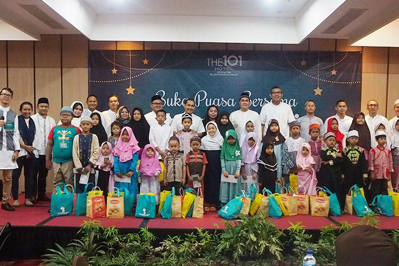 101 Hotel Bogor Berbagi Berkah Ramadhan Bersama Media dan Anak Yatim Piatu