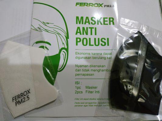 6 Keunggulan Masker Anti Polusi Ferrox PM2.5