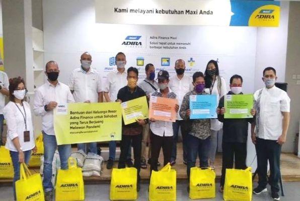 CSR ke Bandung, Adira Finance Berikan Bantuan Peduli Covid-19