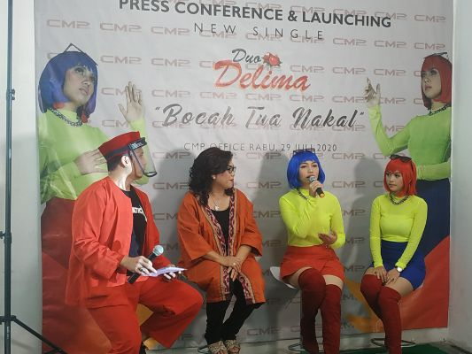 Dibawah Label CMP Record, Duo Delima Rilis Single Teranyar,  | jakartainsight.com