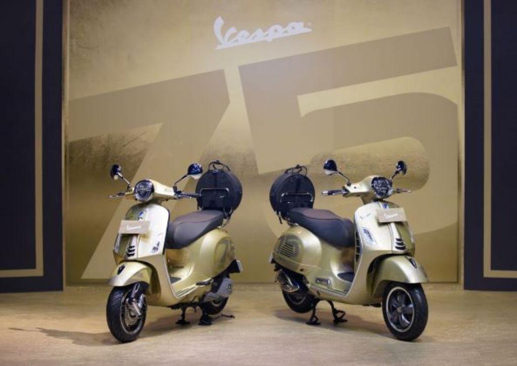 PT Piaggio Luncurkan Vespa 75thAnniversary Limited Edition