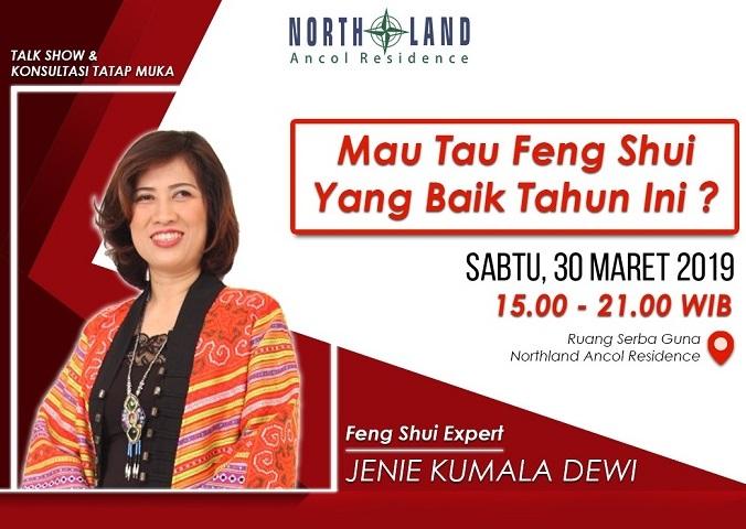 Jaya Ancol Property Gelar Dialog dan Konsultasi Feng Shui 2019 Bareng Jenie Kumala Dewi