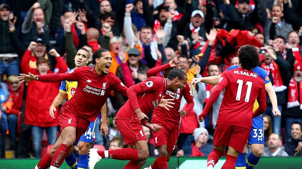 Jalani 19 Laga Tanpa Kekalahan, Liverpool Berpotensi Samai Rekor Tak Terkalahkan Milik Arsenal