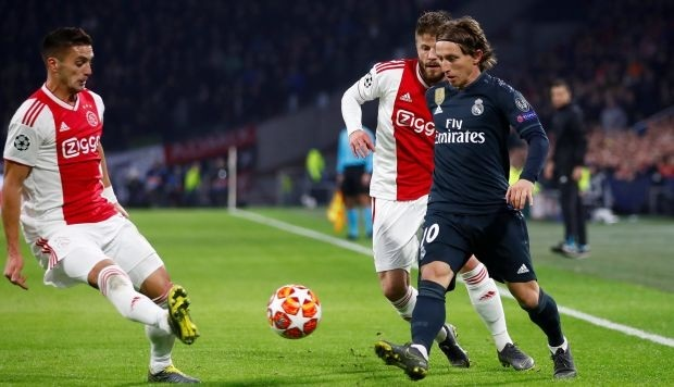 Tanpa Ramos, Menjamu Ajax di Liga Champion Real Madrid Optimis Menang