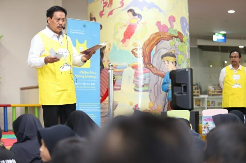 Kolaborasi Dengan Perpusnas, NLCY Korea Selatan Gaungkan Kampanye 'Read Me a Book'