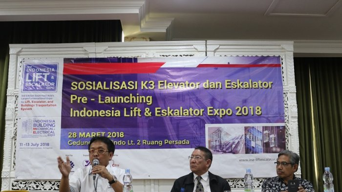 Pameran Indonesia Lift dan Eskalator Akan Kembali Digelar Juli 2018 mendatang
