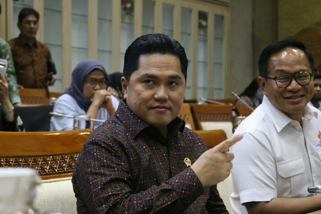 Rapat Panja Komisi VI, Erick Thohir Upayakan Pembayaran Polis Jiwasraya Akhir Maret