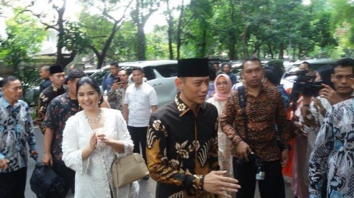 Lebaran di Istana, AHY : Ini silaturahmi antara keluarga SBY dan keluarga Jokowi