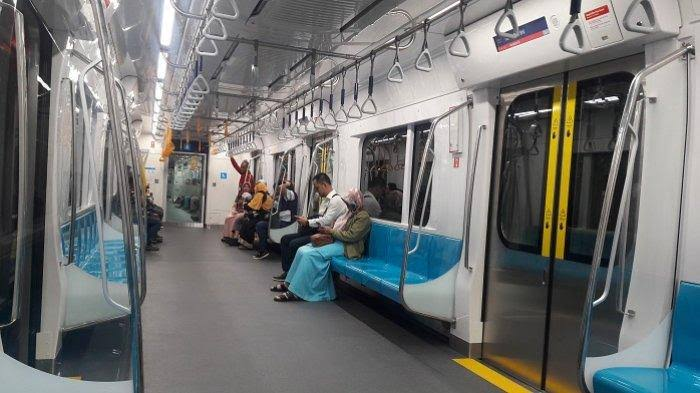 Bertarif Rp 8.500, Ini Aturan dan Larangan saat Naik MRT Jakarta!