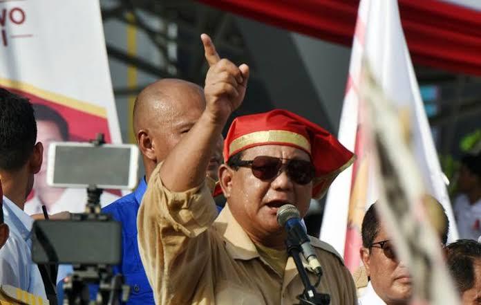 Hentikan Pidato Ketika Azan, Prabowo: Kita istirahat sejenak dan ada kesempatan saya untuk minum kopi